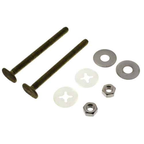 """7111 3-1/2"""" Bowl to Floor Bolts Product Image"""