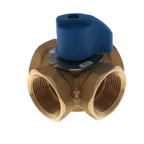"1-1/4"" Brass 4-Way Mixing Valve Product Image"