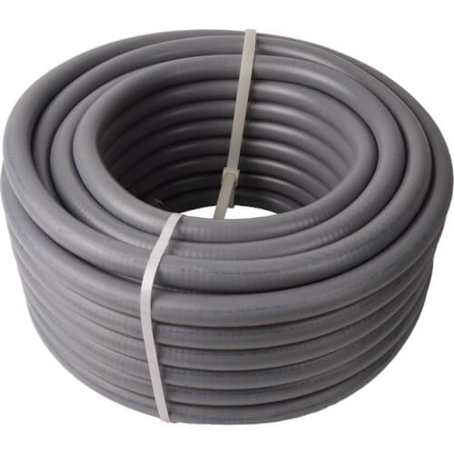 "3/4"" Liquid Tite Flexible Conduit, Metallic (100ft) Product Image"