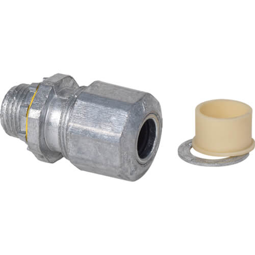 """1/2"""" Liquid Tite Connector for PVC Jacketed MC Cable Product Image"""