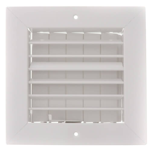 "6"" x 6"" (Wall Opening Size) White Commercial Supply Register (821 Series) Product Image"