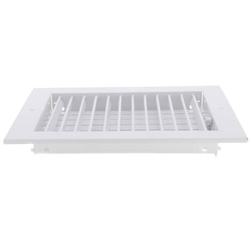 """10"""" x 8"""" (Wall Opening Size) White Commercial Supply Register (821 Series) Product Image"""