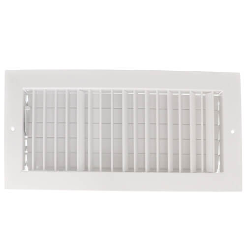 """14"""" x 6"""" (Wall Opening Size) White Commercial Supply Register (821 Series) Product Image"""