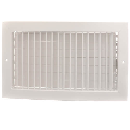 """14"""" x 8"""" (Wall Opening Size) White Commercial Supply Register (821 Series) Product Image"""