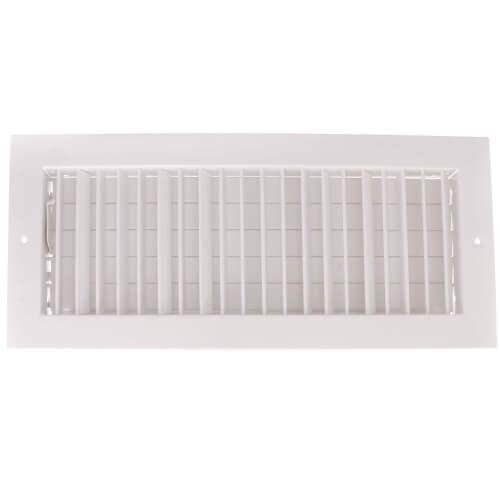 """16"""" x 6"""" (Wall Opening Size) White Commercial Supply Register (821 Series) Product Image"""