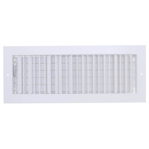 """18"""" x 6"""" (Wall Opening Size) White Commercial Supply Register (821 Series) Product Image"""