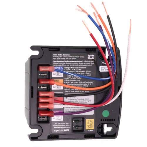 7505P GeniSys Cad Cell Oil Primary Control w/ 15 sec Pre-Purge & 30 sec Post-Purge (Replaces R7184P Relay Controls) Product Image