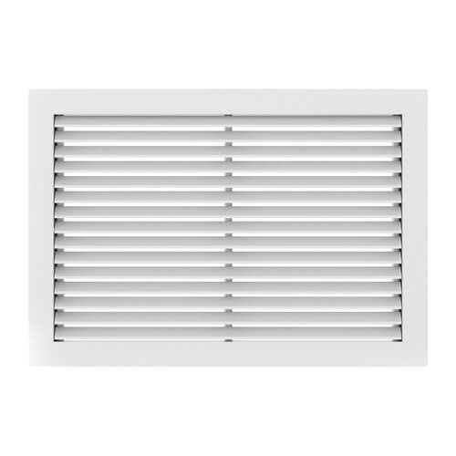 "8"" x 4"" (Wall Opening Size) White Commercial Supply Register (831 Series) Product Image"