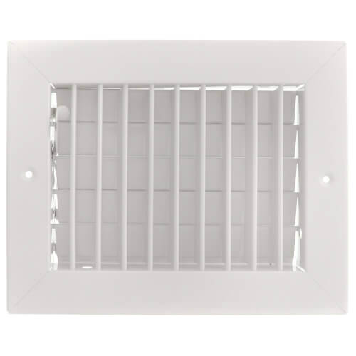 "14"" x 4"" (Wall Opening Size) White Commercial Supply Register (831 Series) Product Image"