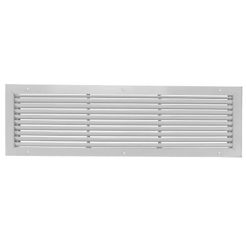 """14"""" x 6"""" (Wall Opening Size) White Commercial Supply Register (831 Series) Product Image"""