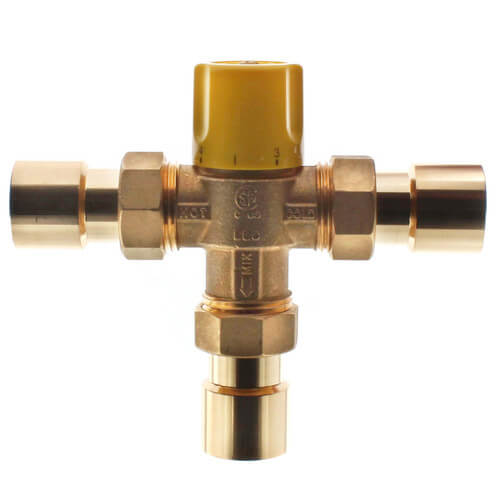 """1"""" Sweat Thermostatic Mixing Valve (Lead Free) Product Image"""