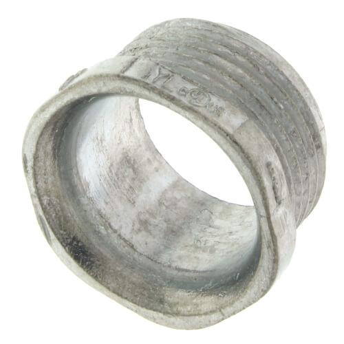 """1"""" Rigid Zinc Conduit Chase Nipple Product Image"""