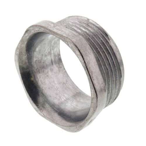 """1-1/4"""" Rigid Zinc Conduit Chase Nipple Product Image"""