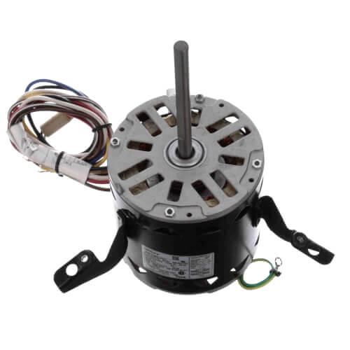 "5-5/8"" 4-Speed Fleximount Fan/Blower Motor (115V, 1075 RPM, 1/2 HP) Product Image"