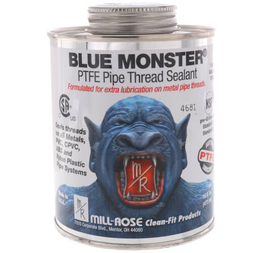 Blue Monster Heavy-Duty Industrial Grade Thread Sealant with PTFE (16 oz.) Product Image