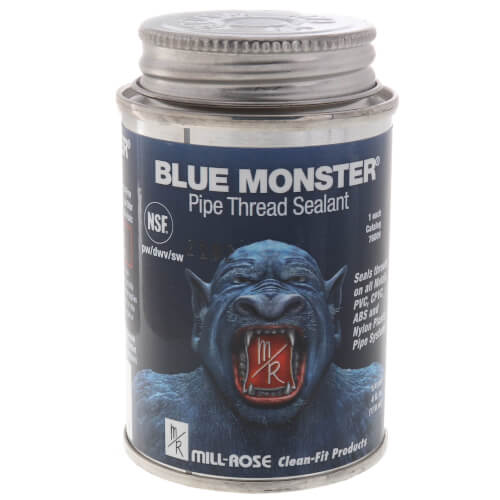 Blue Monster Heavy-Duty Industrial Grade Thread Sealant (4 oz.) Product Image