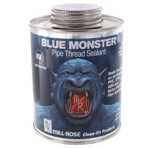 Blue Monster Heavy-Duty Industrial Grade Thread Sealant (16 oz.) Product Image