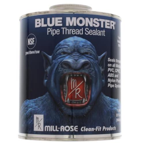 Blue Monster Heavy-Duty Industrial Grade Thread Sealant (32 oz.) Product Image