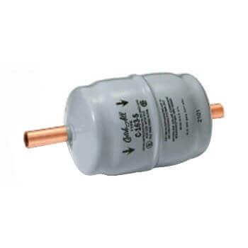 """C-163-PZK 3/8"""" ODM Catch-All Solder Liquid Line Filter Drier Product Image"""