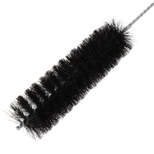 "2"" Horsehair Radiator/Furnace Cleaning Brush (Total Length w/ Handle: 27"") Product Image"