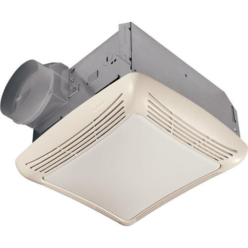 Finish Pack (Fan/Light w/ Transparent Polymeric Lens & Resin Grille; 100W Incandescent Lighting - 50 CFM) Product Image