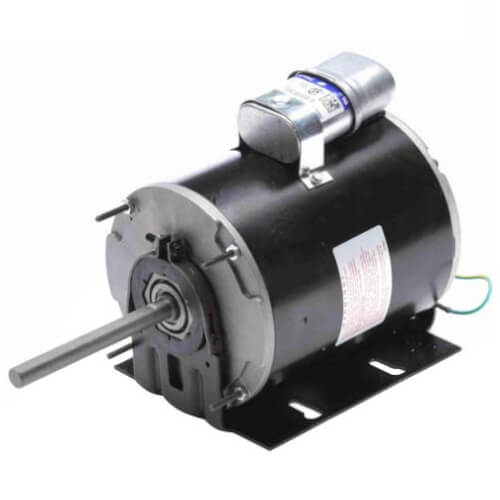 """5-5/8"""" Totally Enclosed Fan/Blower Motor (115/230V, 1725 RPM, 1/4 HP) Product Image"""