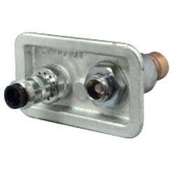 """Model-76 Close Coupled, 3/4"""" FPT Freezeless Backflow Preventer Wall Hydrant Product Image"""