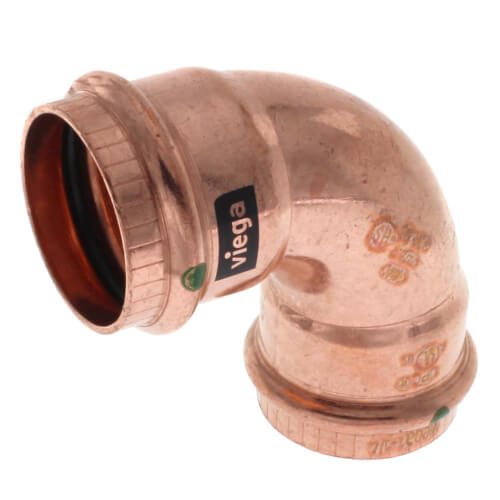 "1-1/4"" ProPress Copper 90 Elbow (PxP) Product Image"