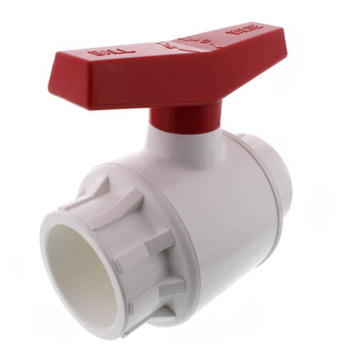 """2-1/2"""" 770 PVC Ball Valve - Solvent Ends Product Image"""