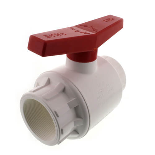 """3"""" 770 PVC Ball Valve - Threaded Ends Product Image"""