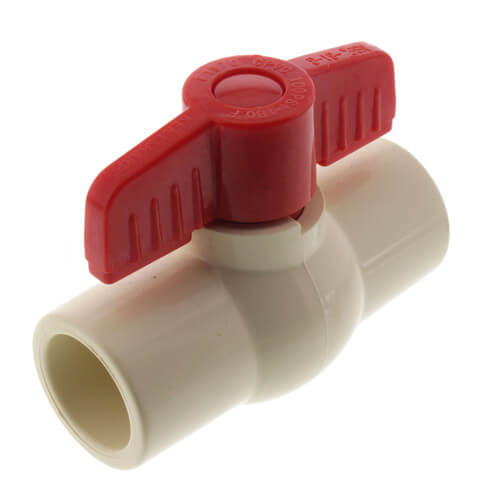 """3/4"""" 771 CPVC Ball Valve - Solvent Ends Product Image"""