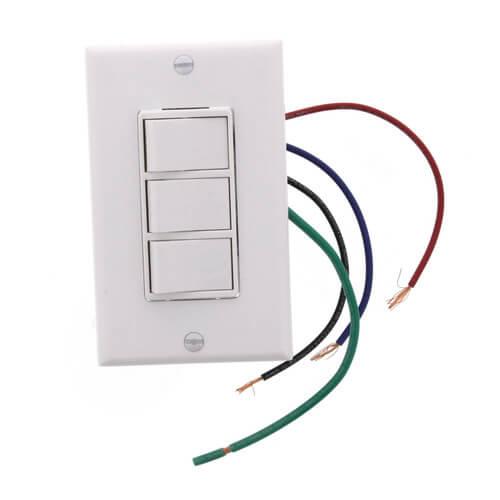 77DW - Broan 77DW - 77DW Four-Function Switch (White)