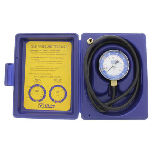 "Gas Pressure Test Kit (0 - 35"" W.C) Product Image"