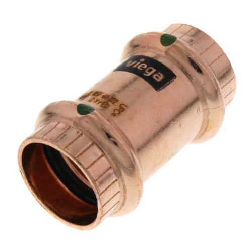 """3/4"""" ProPress Copper Coupling - No Stop (Lead Free) Product Image"""