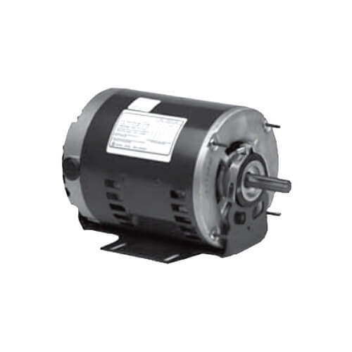 3-Phase ODP Polyphase Commercial Belt-Drive Blower Motor, 56HZ (200-230/460V, 2 HP, 1725 RPM) Product Image