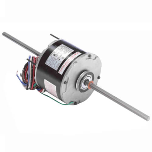 """5-5/8"""" Double Shaft Fan/Blower Motor (277V, 1075 RPM, 1/4 HP) Product Image"""