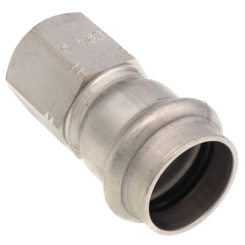 """3/4"""" Press x 1/2"""" Female ProPress 316 Stainless Steel Adapter Product Image"""