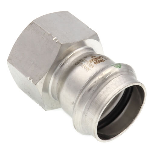 """1"""" Female ProPress 316 Stainless Steel Adapter Product Image"""