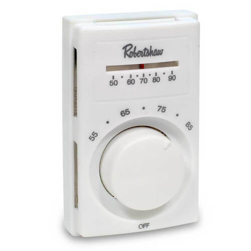 Line Voltage Thermostat, DPST (Heating) Product Image