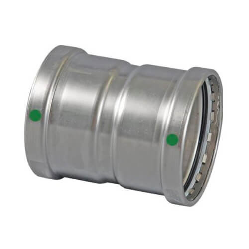 "3"" ProPress 316 Stainless Steel XL Coupling w/ EPDM Seal Product Image"
