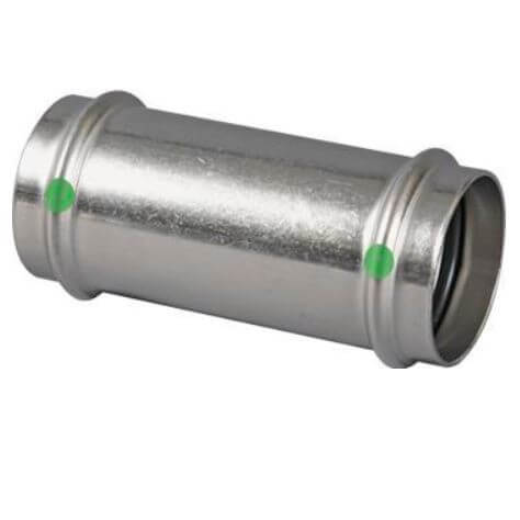 """3/4"""" ProPress 316 Stainless Steel Coupling w/ EPDM Seal - No Stop Product Image"""