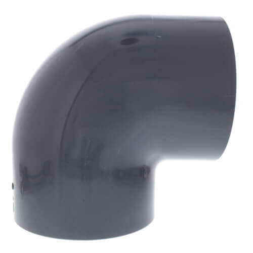 """1/4"""" PVC Schedule 80 90° Elbow Product Image"""