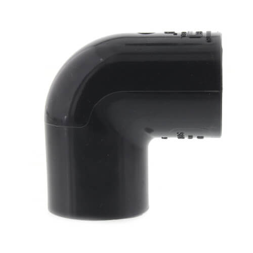 """3/4"""" PVC Schedule 80 90° Elbow Product Image"""