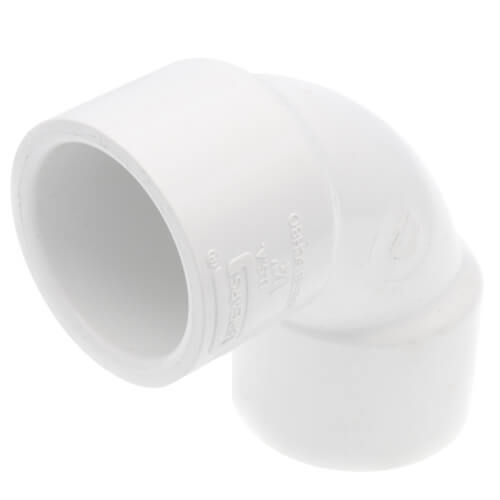 """1-1/4"""" CPVC Schedule 80 90° Sweep Elbow (Socket) Product Image"""