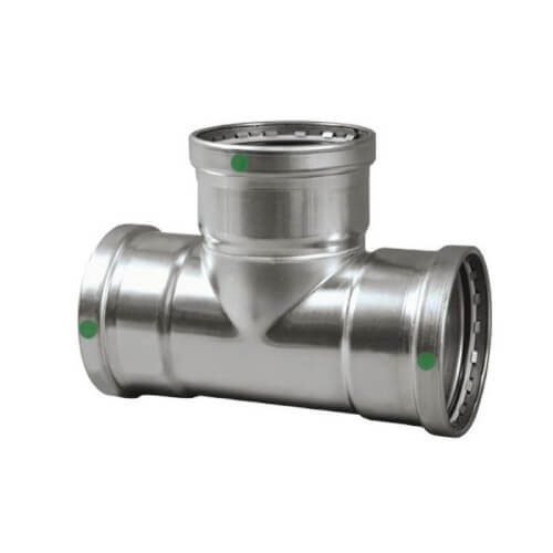 """4"""" ProPress 316 Stainless Steel XL Tee Product Image"""