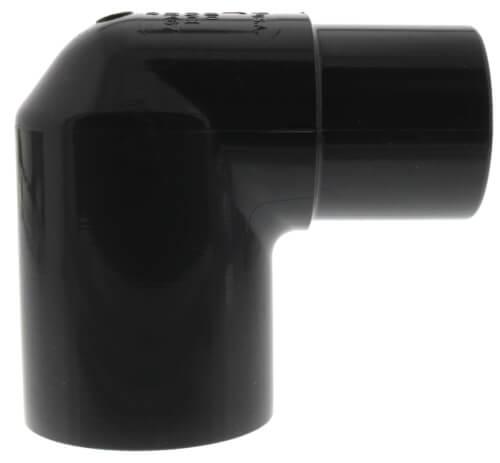 "1"" PVC Schedule 80 90° Street Elbow (Spigot x Socket) Product Image"