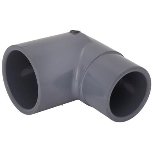 "2"" Spigot x 2"" Socket CPVC Schedule 80 90° Street Elbow Product Image"