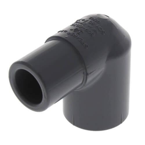 "2-1/2"" Spigot x 2-1/2"" Socket CPVC Schedule 80 90° Street Elbow Product Image"