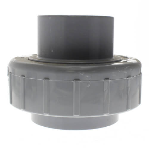 "1-1/2"" CPVC Schedule 80 Union 2000 w/ EPDM O-Ring Seal (Socket x Spigot) Product Image"