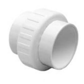 "2"" Soc x 1-1/2"" Soc (2"" Spigot) PVC Sch. 40 Socket Nesting Union w/ EPDM O-ring Product Image"